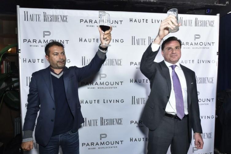 Kamal Hotchandani (left) and Dan Kodsi / Photo by Eugene Gologursky/Getty Images for Haute Living