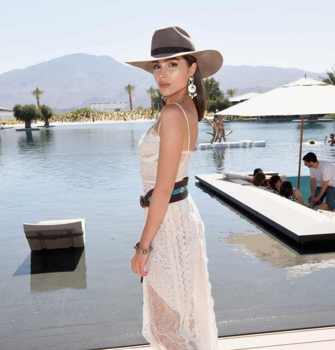 Olivia Culpo parties with Dream Hotels at Republic Records and Dream Hotels present The Estate at Zenyara