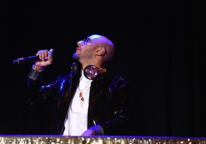 "Recording artist Kasseem ""Swizz Beatz"" Dean performs on stage at  the Eighth Annual Brooklyn Artists Ball at The Brooklyn Museum on April 17, 2018 in New York City."