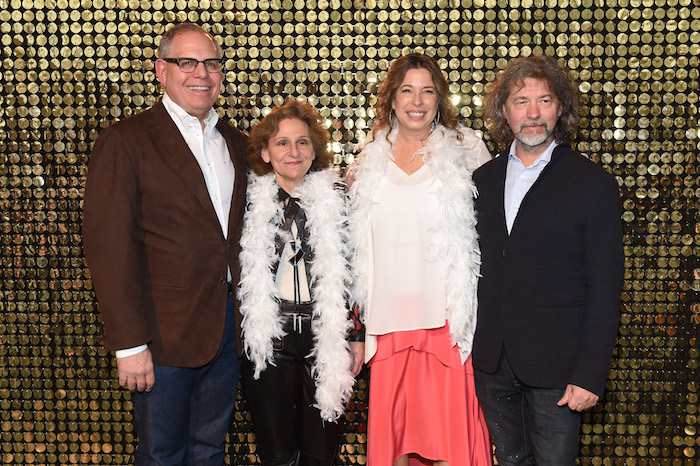 William Taubman, Ellen Taubman, The Shelby White and Leon Levy Director, Brooklyn Museum Anne Pasternak and artist Mike Starn attend The Eighth Annual Brooklyn Artists Ball At The Brooklyn Museum on April 17, 2018 in New York City.