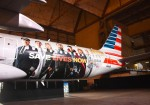 "American Airlines, Marvel Studios' ""Avengers: Infinity War"", Stand Up To Cancer unveil the customized American Airlines aircraft at Los Angeles International Airport on April 23"