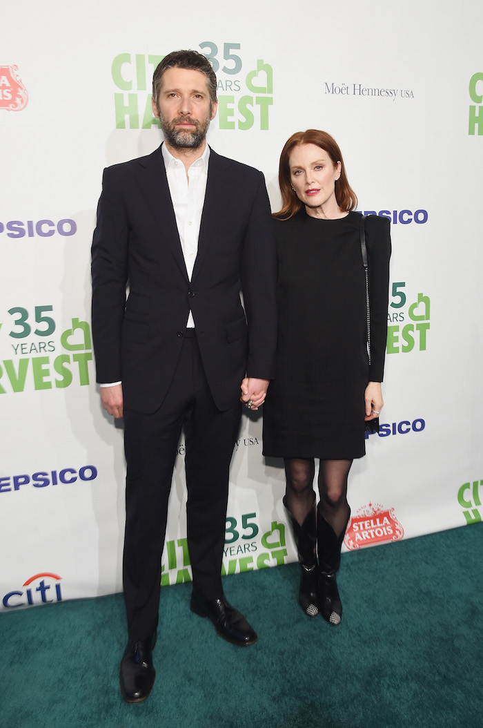 Bart Freundlich and Julianne Moore attend City Harvest's 35th Anniversary Gala at Cipriani 42nd Street on April 24, 2018 in New York City.