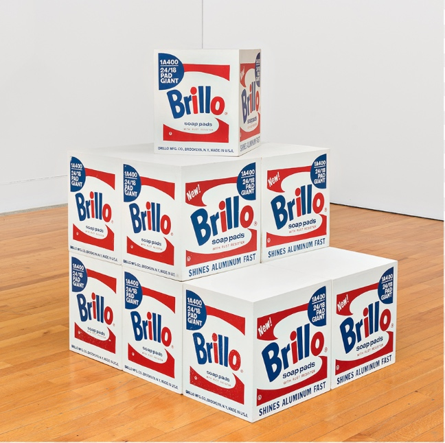 Brillo BOX. 964-68. Screenprint and acrylic on plywood. Museo Coleção Berardo, Lisboa © 2017 The Andy Warhol Foundation for the Visual Arts, Inc. / VEGAP