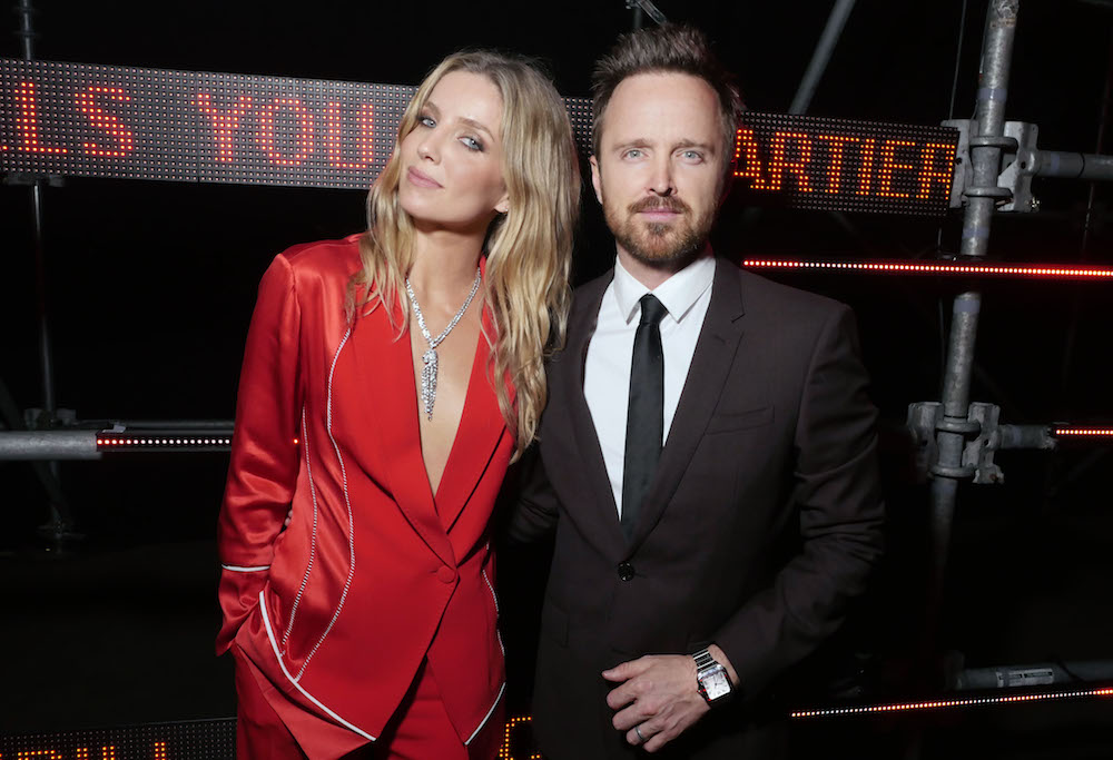 Annabelle Wallis and Aaron Paul