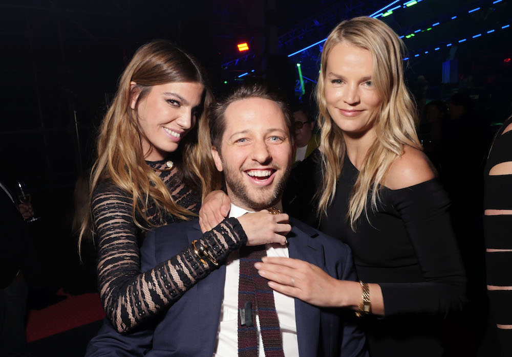 Bianca Brandolini d'Adda, Derek Blasberg, and Kelly Sawyer