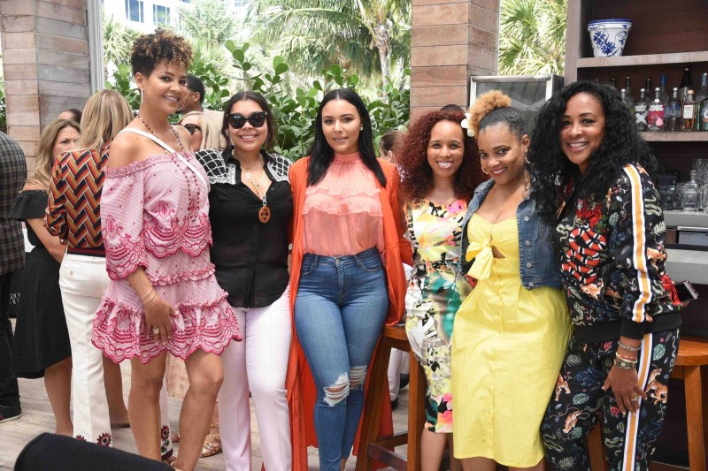 Tracy Mourning, Chanel Valme, Eudoxie Bridges, Valenza Renida Tai, Amaris Jones and Nadine Valme
