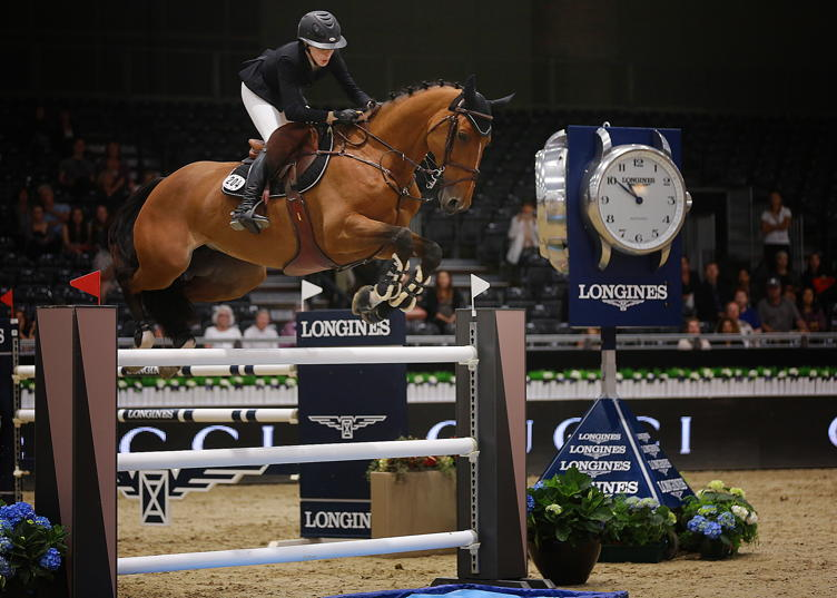 Hannah Selleck at the Longines Masters