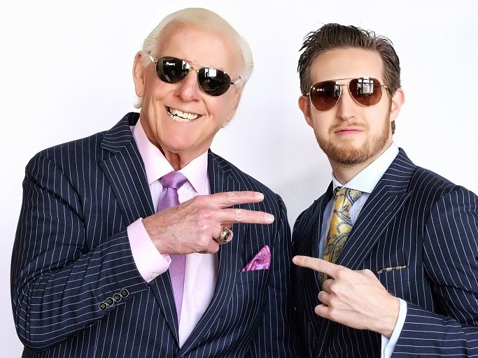 Ric Flair On His Recently Launched Custom Made Suit Collection