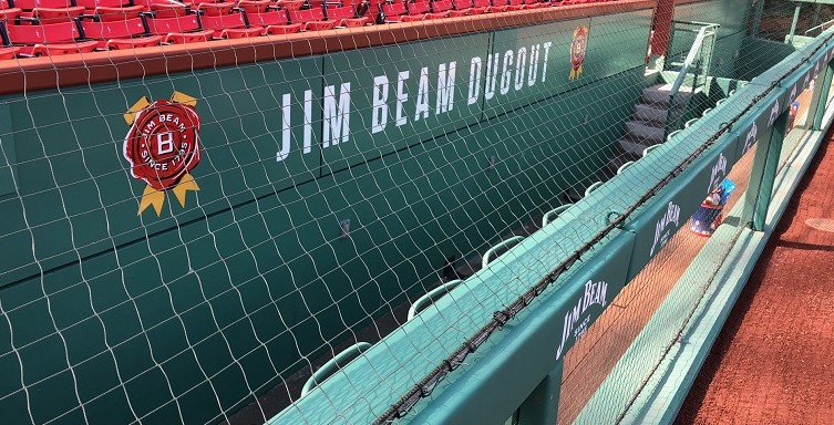Jim Beam Dugout Seats