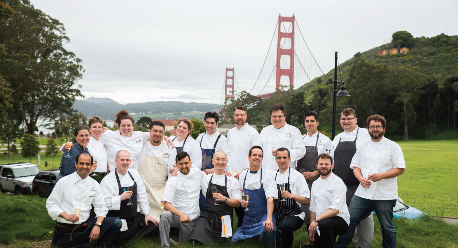 Chefs at last year's Lexus Culinary Classic