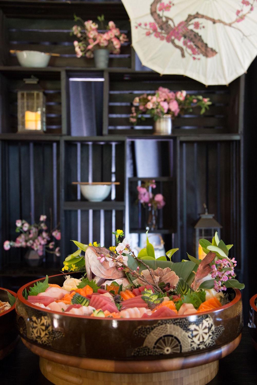 Fresh sashimi by Sushi Ran