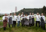 The group of chefs who cooked for the grand tasting