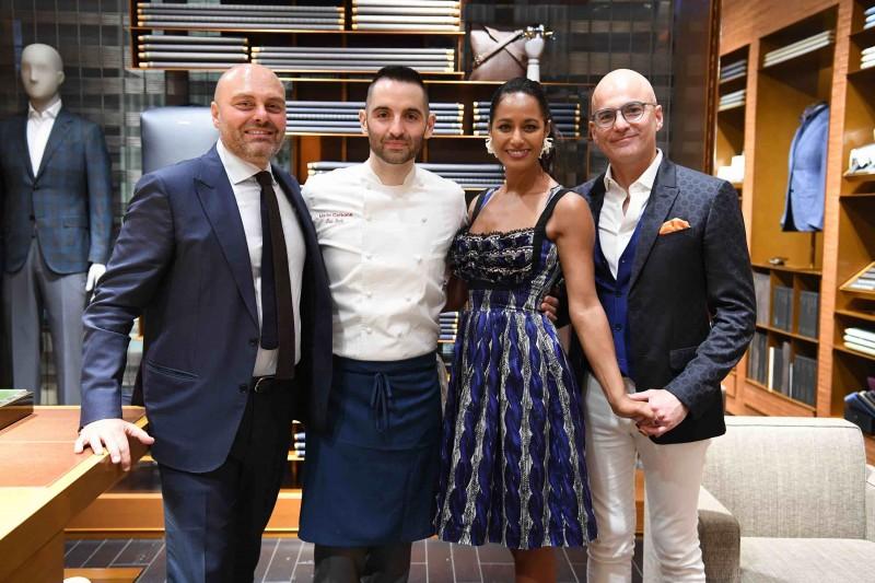 Marco Olivieri, Mario Carbone, Rula Toussaint, & Domenico Di Pietro