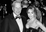 Katia Francesconi and Steve Tisch
