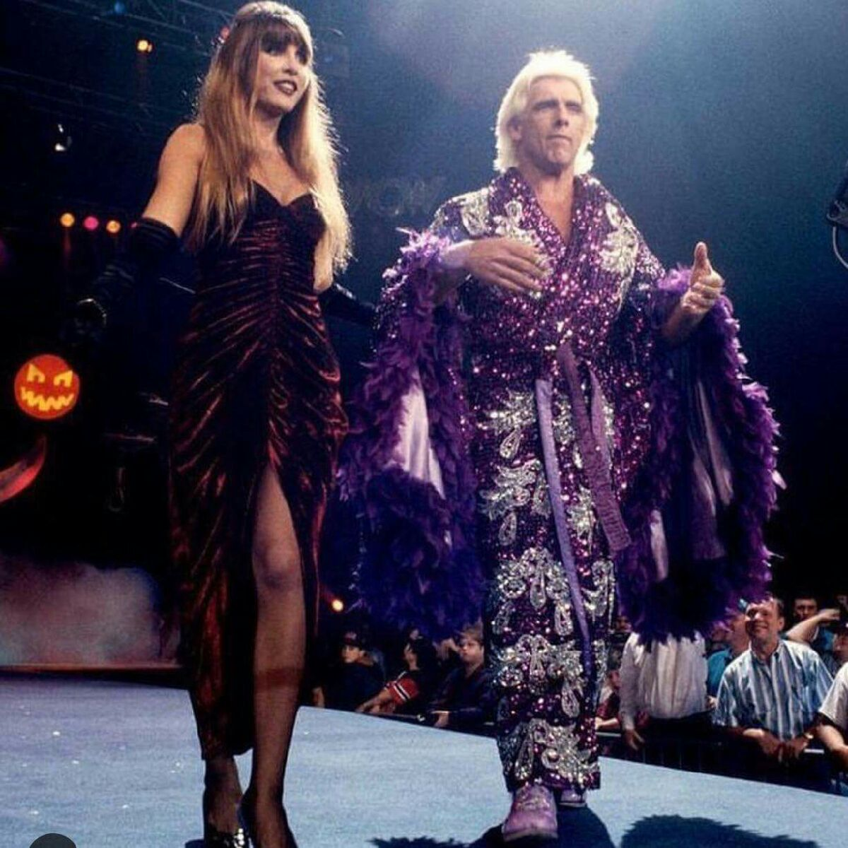Ric Flair at Halloween Havoc