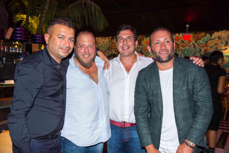 Kamal Hotchandani, Gil Dezer, Gonzalo Morales and Keith Menin