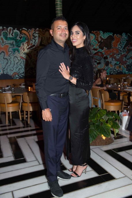 Kamal Hotchandani and Deyvanshi Masrani