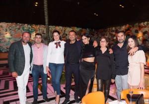 Keith Menin, Sergey Petrossov, Lolita Frangulyan, Kamal Hotchandani, Deyvanshi Masrani, Mini Hotchandani, Sunjay and Kara Hotchandani