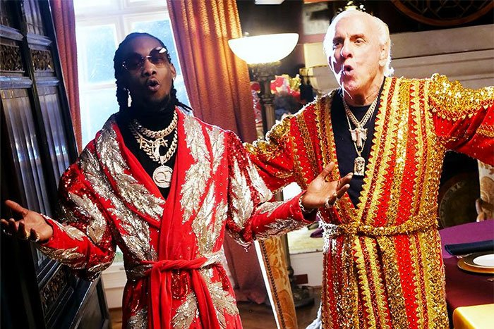 Offset & Ric Flair