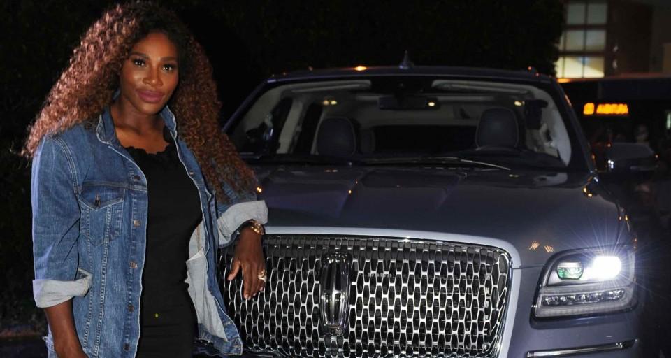 Serena Williams Celebrates Partnership With Sbe And Lincoln At Delano