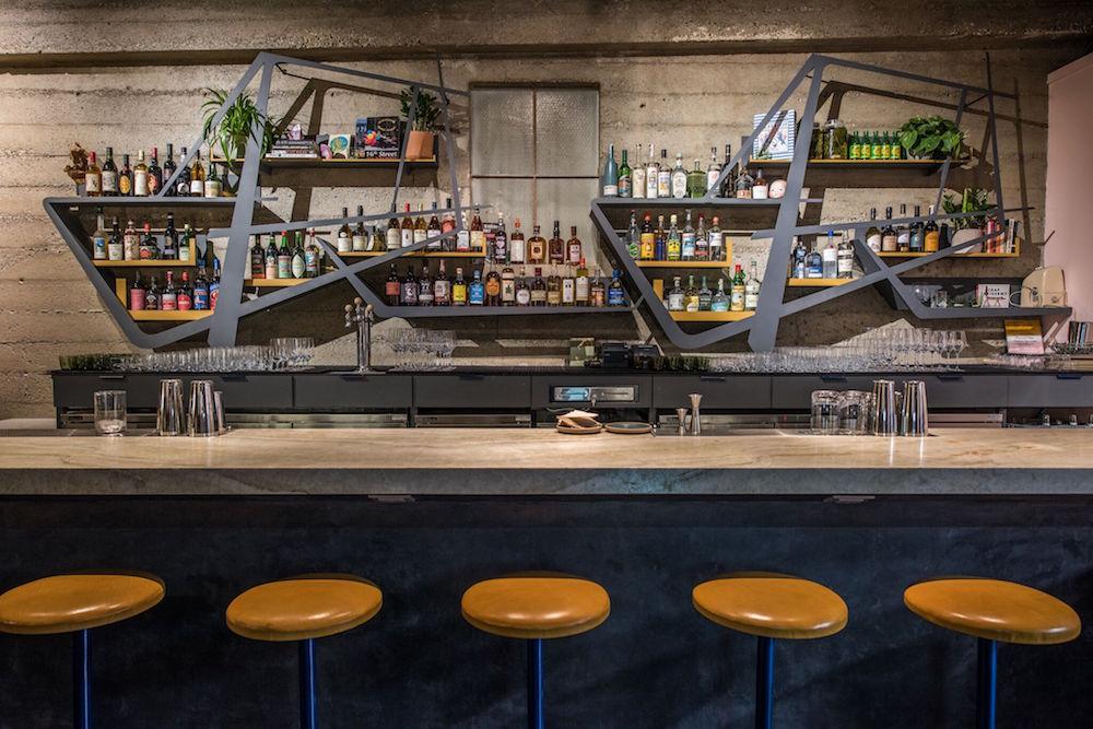 The bar at True Laurel