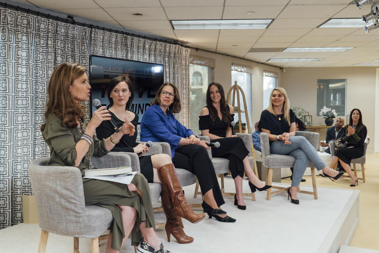 Maria Shriver hosts a panel at the Alzheimer's Movement offices to launch the 2018 Move for Minds campaign