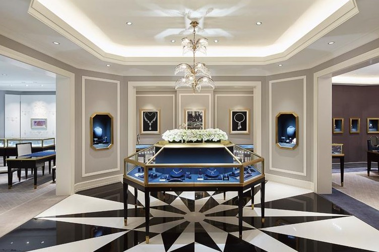 Inside Harry Winston Hong Kong