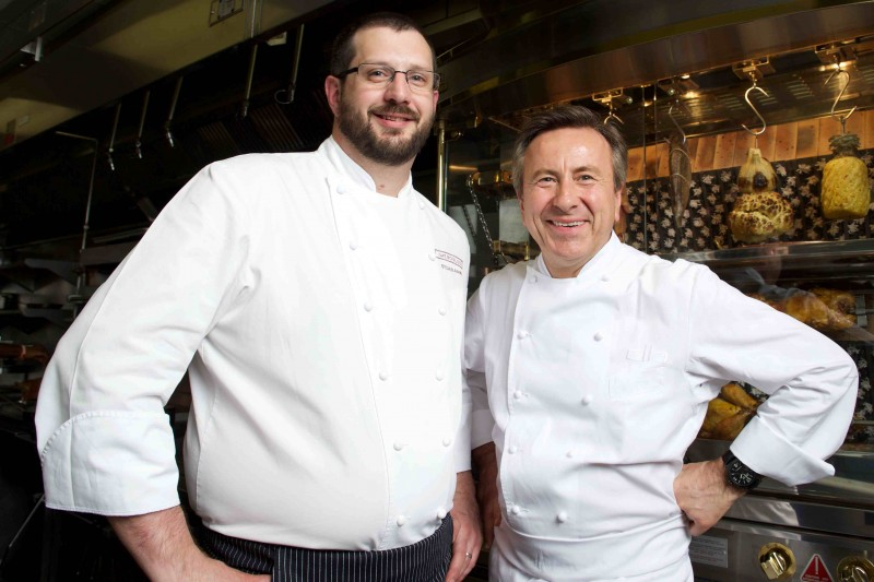 Daniel Boulud and Sylvain Assie