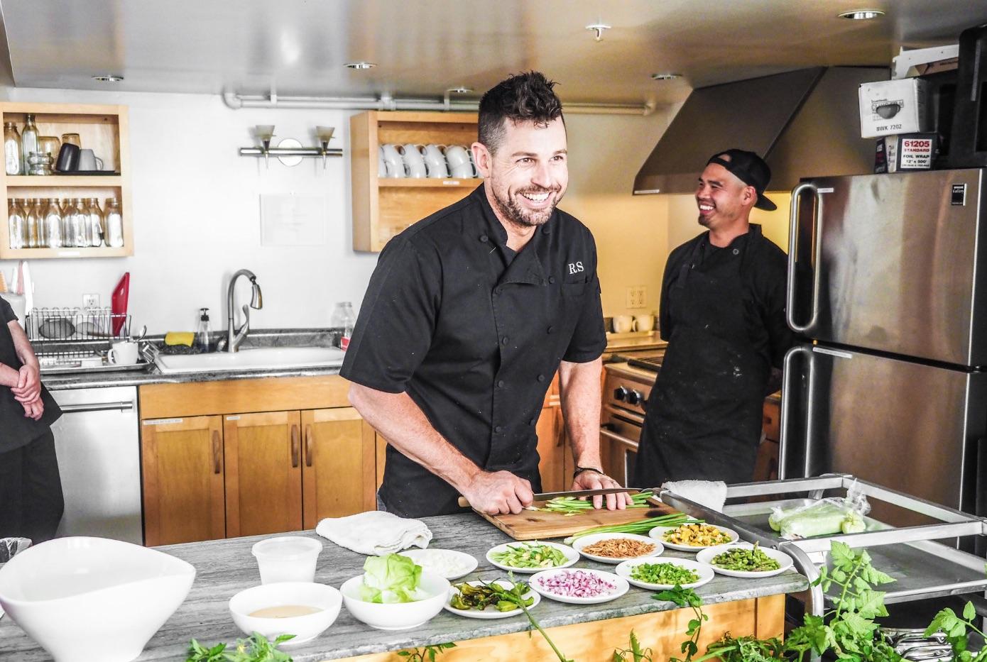 Scott in the kitchen