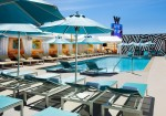 W Las Vegas WET Deck Pool Haute Living Las Vegas Tita Carra