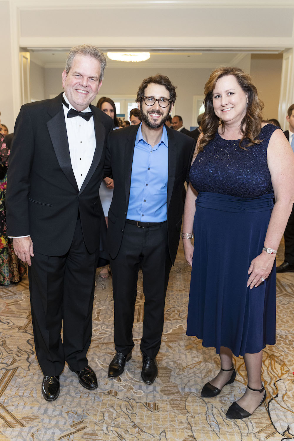 Curtis Priem, Josh Groban and Veronica Priem