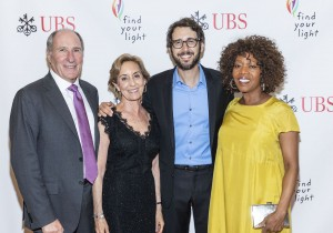 HALF MOON BAY, CA - May 19 -  John Goldman, Marcia Goldman, Josh Groban and Alfre Woodard attend FIND YOUR LIGHT FOUNDATION 2018 Gala hosted by Josh Groban on May 19th 2018 at Ritz Carlton Half Moon Bay in Half Moon Bay, CA (Photo - Drew Altizer)