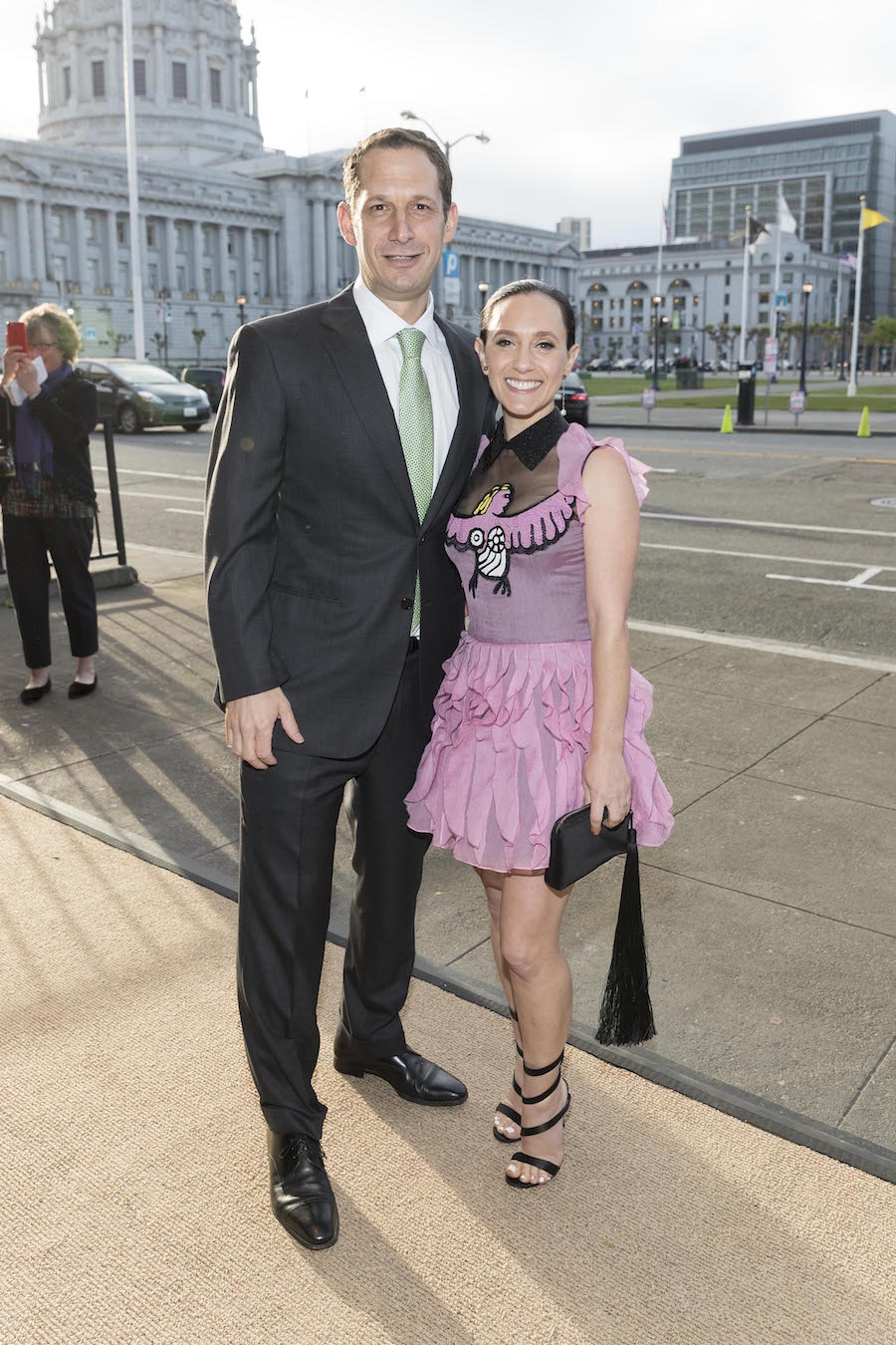 Daniel Lurie and Becca Prowda