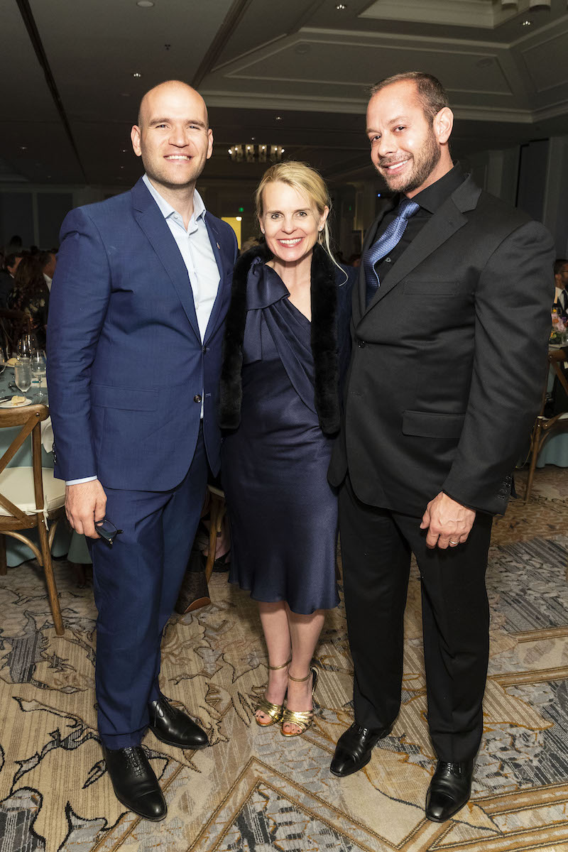 Michael Fabiano, Jane Mudge, and Bryan McCalister
