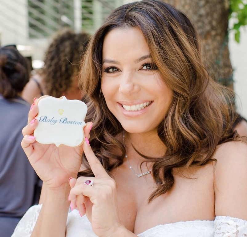 Eva Longoria Celebrates Baby Shower With Amazon Baby Registry