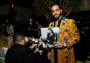 Maluma with his Haute Living cover
