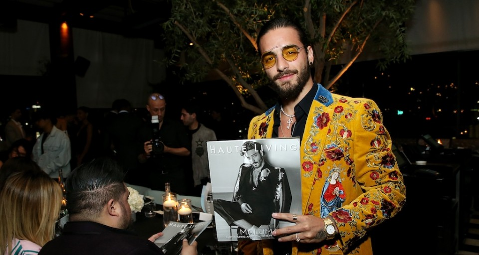 Inside Haute Living's Private Maluma Cover Launch Party With JetSmarter And CÎROC At Highlight Room