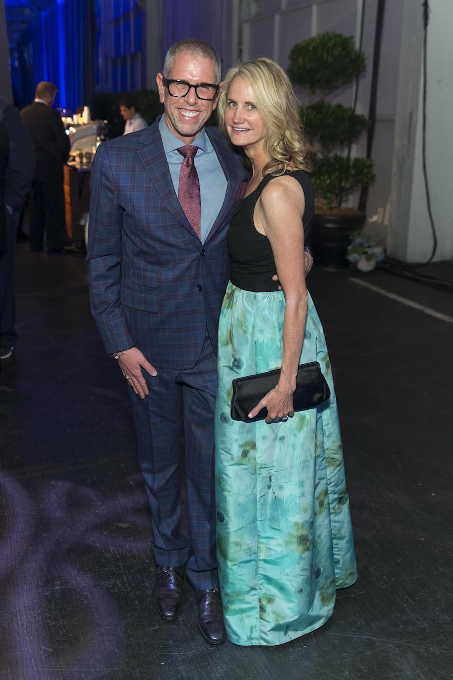 Andrew Freeman and Pam Roberts