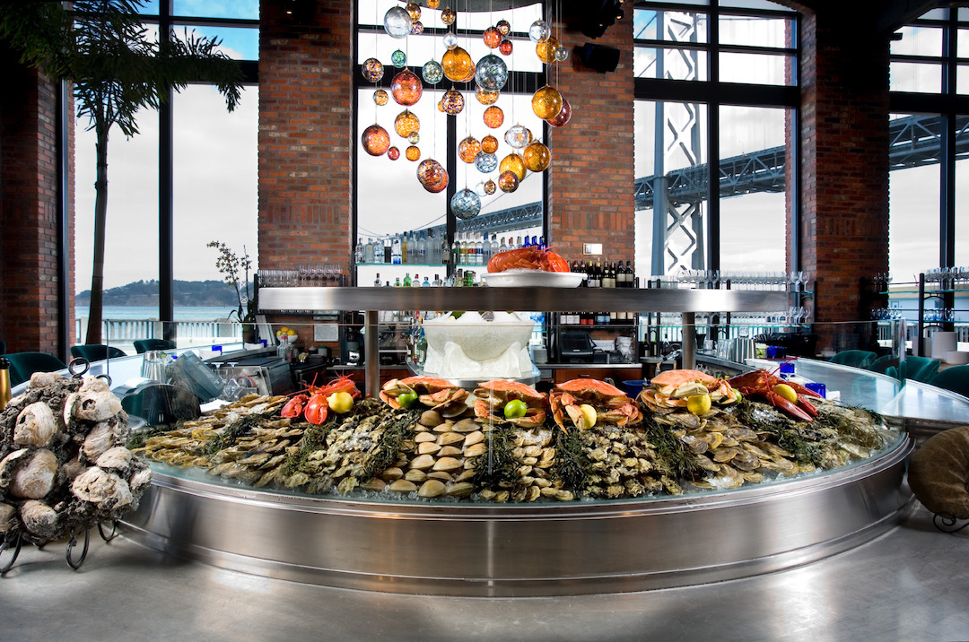 Waterbar's raw bar