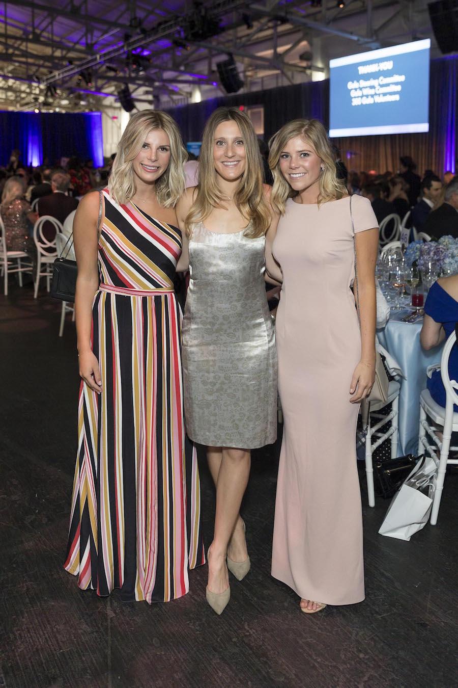 Andi Gazelle, Paige Eller and Natalie Eggers