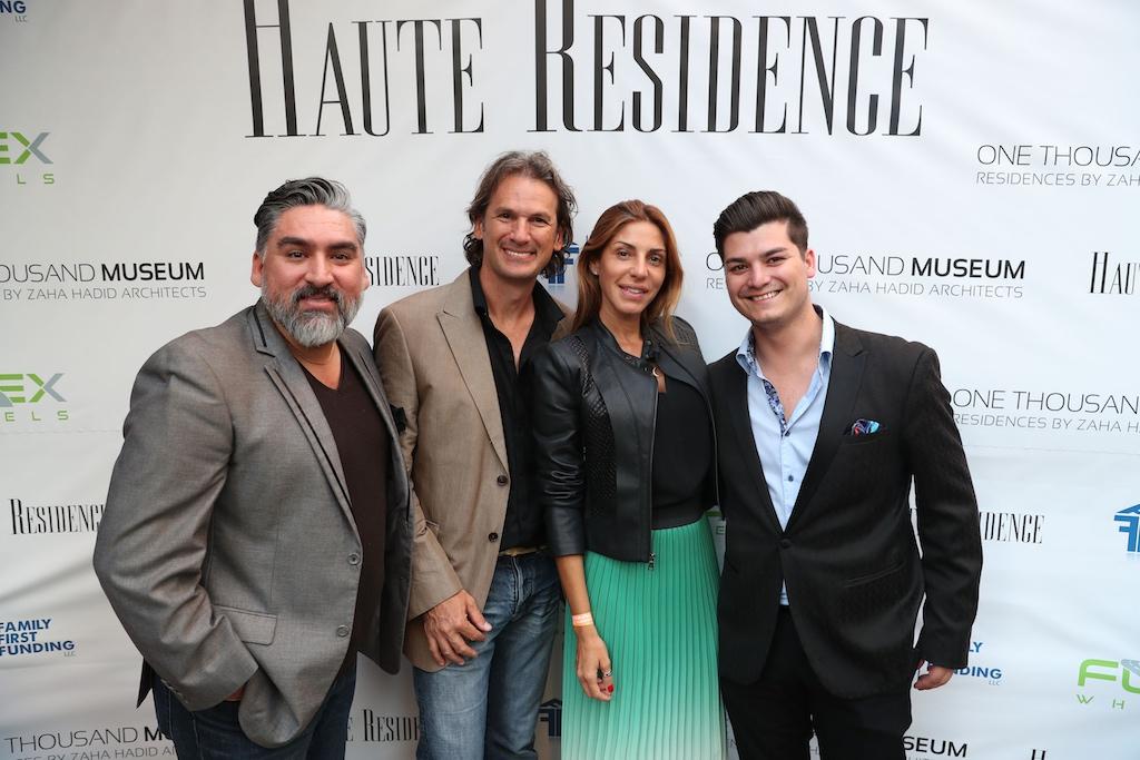 Nick Betancourt, Claudio Kaczka, Vanessa Nunez & Michael Torres
