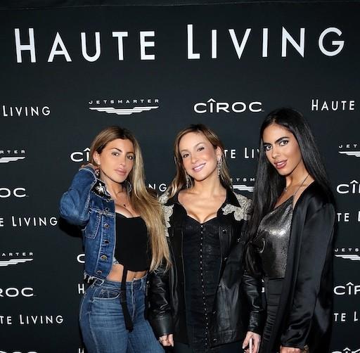 Larsa Pippen, Claudia Leitte, and Deyvanshi Masrani