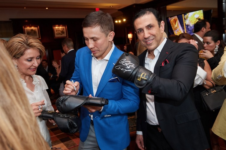 GGG and Dr. Simon Ourian
