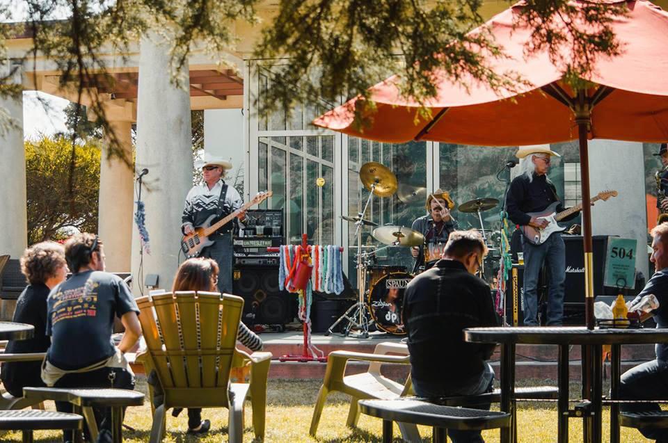 The Beach Cowboys perform at Park Chalet