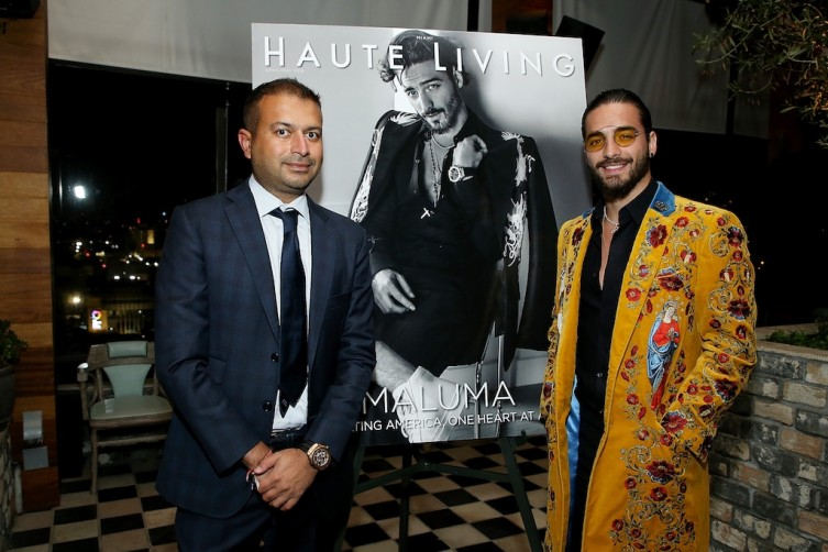 Kamal Hotchandani and Maluma