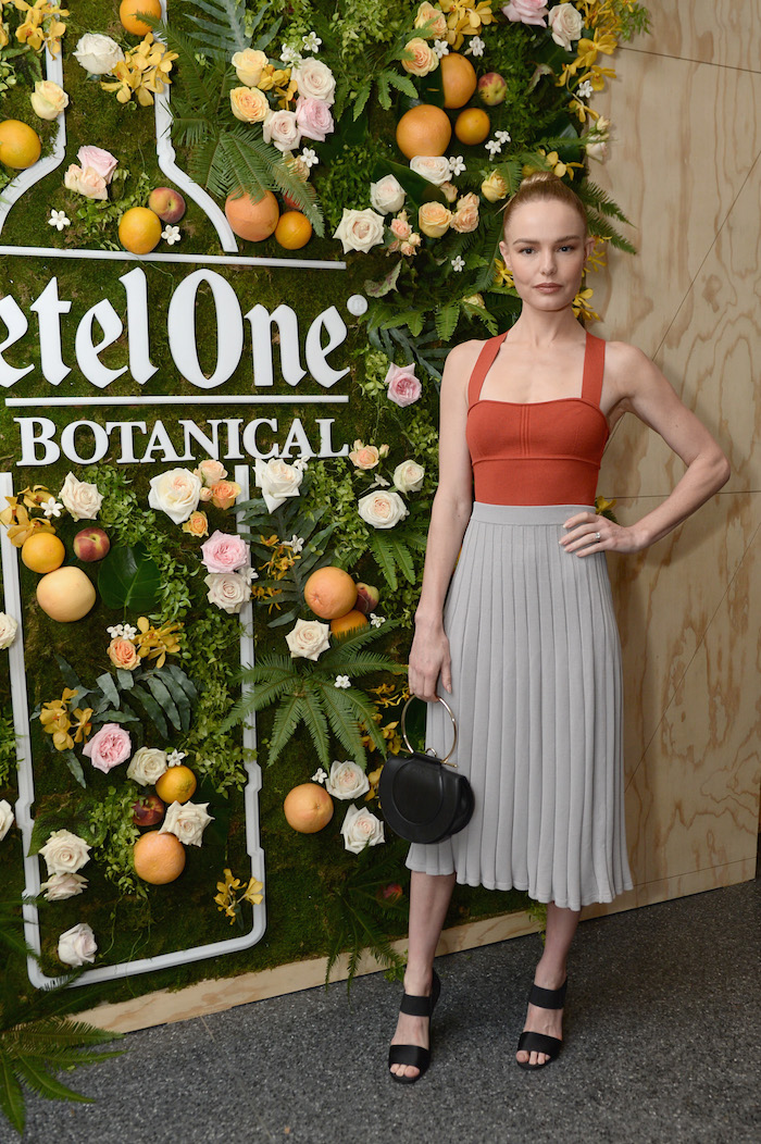 Kate Bosworth celebrating the launch of Ketel One Botanical