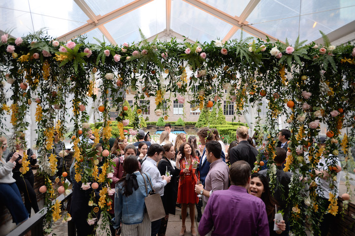 Guests celebrating the launch of Ketel One Botanical