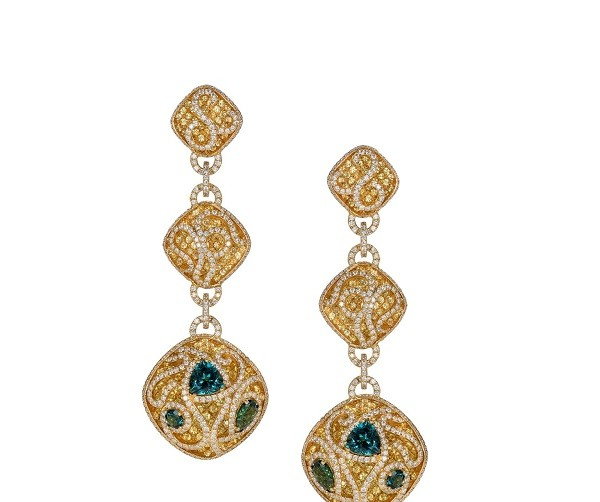 Avakian earrings from the High ewelry Collection