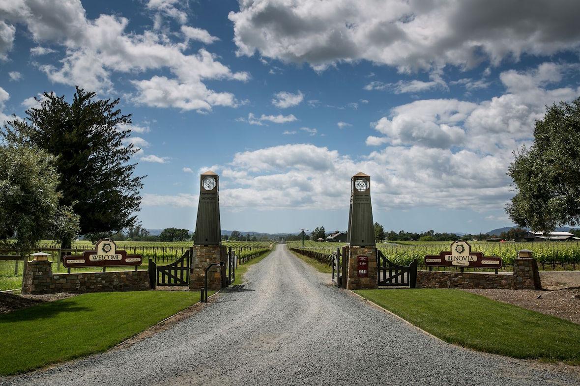 Benovia's front gate