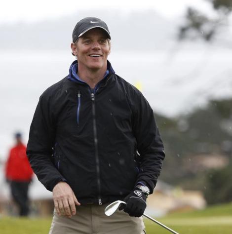 Bill Hemmer Golfing